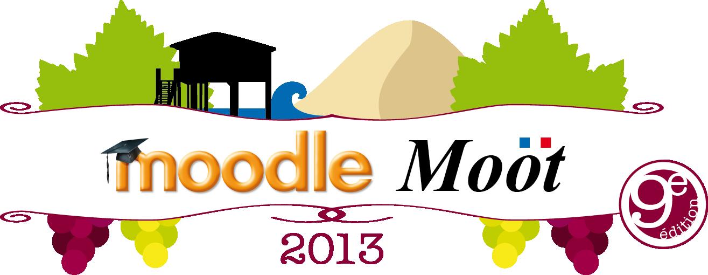 Logo MoodleMoot 2013