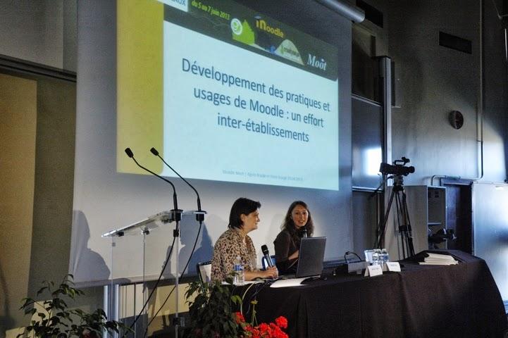 Photographie de la communication en plénière
