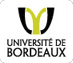 Logo Universit� de Bordeaux